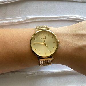 Nixon Women's Gold Watch